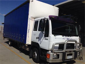 Man (1999) truck for sale with work (12pallet tautliner) Clayton South Kingston Area Preview