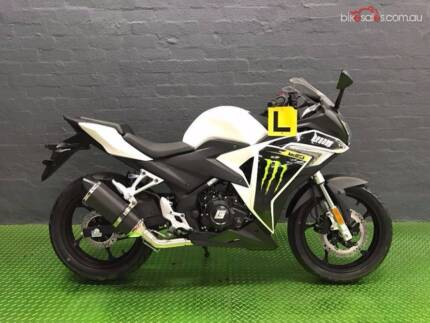 2016 braaap MOTO3 MONSTER ENERGY Road Manual 6sp 250cc