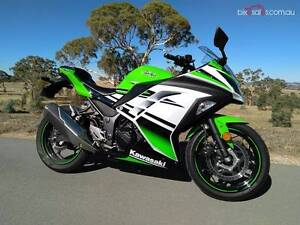 2015 Kawasaki Ninja 300 ABS SE 30th Anniversary Belconnen Belconnen Area Preview
