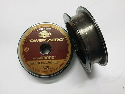 SHIMANO POWER AERO MONOFILO 100mt