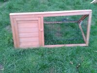 Rabbit/Guinea Pig Wooden garden pen