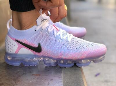 Women's Men's Air VaporMax Flyknit 2 Sneakers Running Designer Trainer Shoes UK