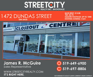 Sub Lease / Prime East side Plaza for lease London Ontario image 1