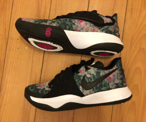 5eef65d57c05 Kyrie 4 lows floral design rare special edition Nike shoes