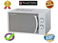 ***NEW**Russell Hobbs Manual Microwave 17 Litre in Silver Colour RHM1709-G