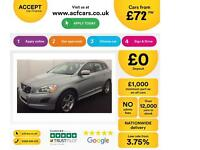 VOLVO XC60 2.4 D4 AWD R DESIGN LUX  2.0 SE 2WD G/T FROM £72 PER WEEK.