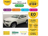 BMW X6 FROM £124 PER WEEK!