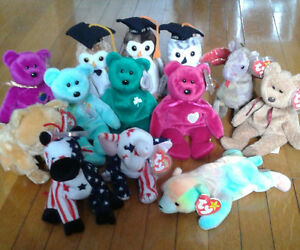 Lot of Beanie Babies from the 1990's Kitchener / Waterloo Kitchener Area image 1