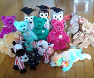 Lot of Beanie Babies from the 1990's