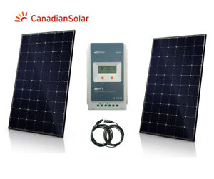 New 600W Solar Panel Kit MPPT controller for RV Boat Trailer