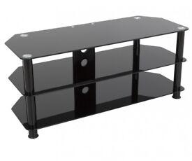 Corner Glass TV Stand For Sale