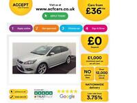 Ford Focus 1.8 125 Zetec S FINANCE OFFER FROM £36 PER WEEK!