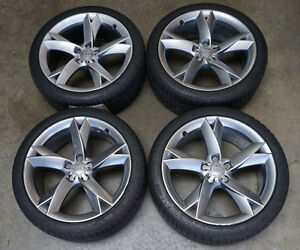 Audi A5 S Line Wheels 19s with Summer Tires