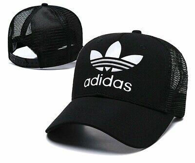 Adidas Men's Originals Tech Mesh Trefoil Snapback Flatbrim Cap Hat