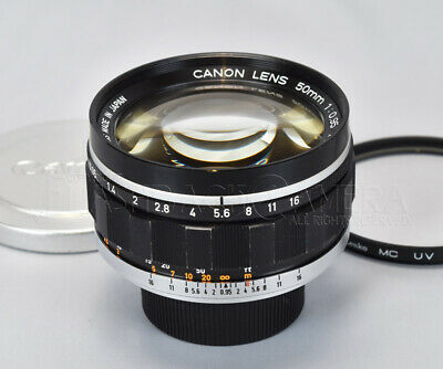 *CLA'd* Canon 50mm f0.95 Dream Lens Modified to Leica M from JAPAN #017033