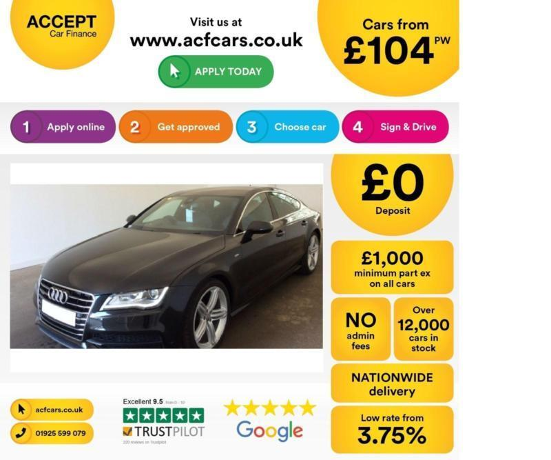 Audi A7 FROM £104 PER WEEK!