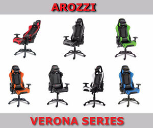 New Arozzi Gaming Chairs Various Series - Free Delivery On Now Peterborough Peterborough Area image 2