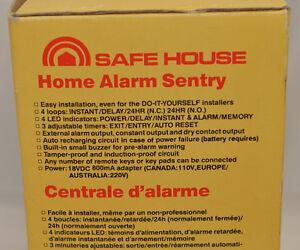 Safe House alarm control center