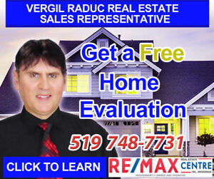 FREE Home Evaluations, Professional Real Estate Service !