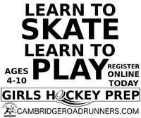 Girls Hockey Prep - Learn To Skate Learn To Play