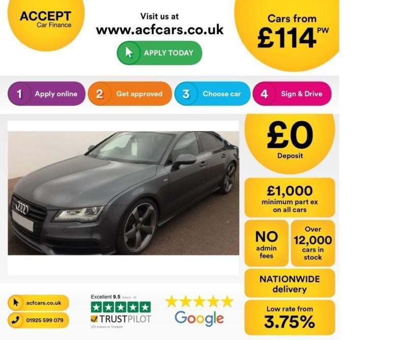 Audi A7 FROM £114 PER WEEK!