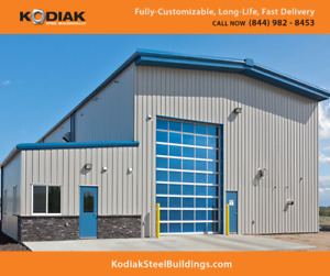 Steel Buildings Sale Kapuskasing - FREE $1500 Building Upgrade