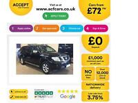 NISSAN NAVARA 2.5 DCI 4WD TEKNA CrewCab Pick-up OUTLAW VISA FROM £72 PER WEEK!
