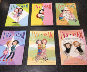 6 Ivy and Bean Books.