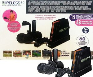 WIRELESS 60 Gaming System 12 Interactive & 48 Arcade