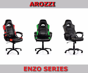 New Arozzi Gaming Chairs Various Series - Free Delivery On Now Cambridge Kitchener Area image 4