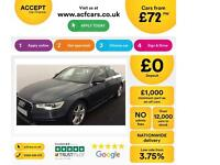 Audi A6 Saloon FROM £72 PER WEEK!