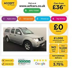 NISSAN NAVARA 2.5 DCI 4WD TEKNA CrewCab Pick-up Aventura FROM £36 PER WEEK!