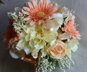 Pretty Wedding Bouquet Flower Set.