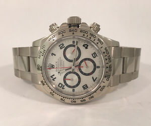 Rolex Daytona Cosmograph in 18k White Gold 116509 Watch,