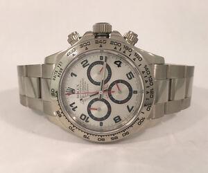 Rolex Daytona Cosmograph in 18k White Gold 116509 Watch