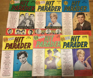 VINTAGE MUSIC MAGAZINES FROM 1940s & 1950s new lower price.