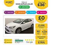 Ford Focus Zetec S FROM £36 PER WEEK!