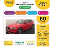 Audi A4 Avant 2.0TDI ( 177ps ) 2013MY Black Edition FROM £72 PER WEEK !