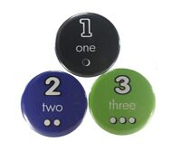 Numbers Magnetic Button Sets