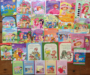 STRAWBERRY SHORTCAKE books $2 each or 29 for $30