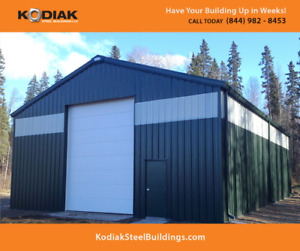Steel Buildings Sale Timmins - Get a FREE $1500 Building Upgrade