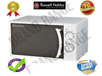 **NEW**Russell Hobbs Manual Microwave 17 Litre in pure White colour RHM1708-G RHM1708G