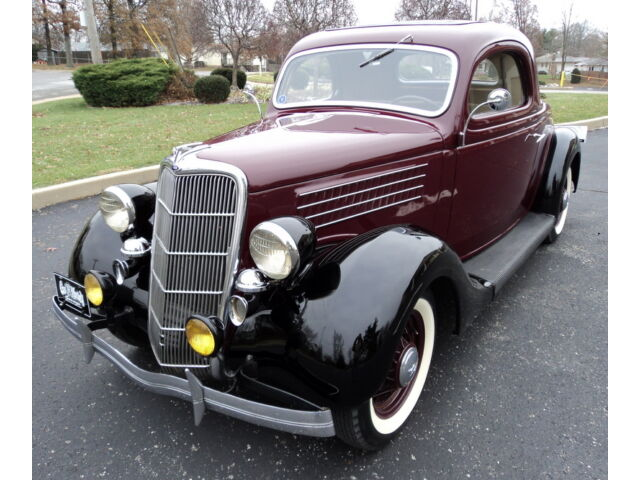Ford : Other GAS MONKEY!! 1935 FORD MODEL 48 DELUXE THREE WINDOW COUPE RUMBLE SEAT ALL STEEL CANADIAN CAR!