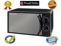 ***NEW***Russell Hobbs Manual Microwave 17 Litre Black RHM1709B-G
