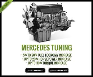 Mercedes MBE900 - MBE4000 EGR-DPF Delete kit