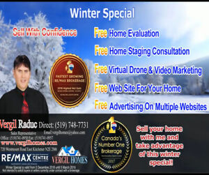 WINTER SPECIAL -Real Estate Deal for Kitchener Waterloo Area,