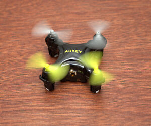 Aukey Mini drone with one button takeoff and landing