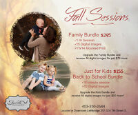 FALL FAMILY SESSIONS- Special Pricing
