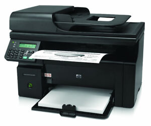 HP Laserjet M1212NF Printer - Excellent Condition with New Toner