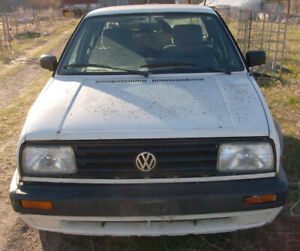 Volkswagen Jetta 1992 & 1989 Project/Parts Cars